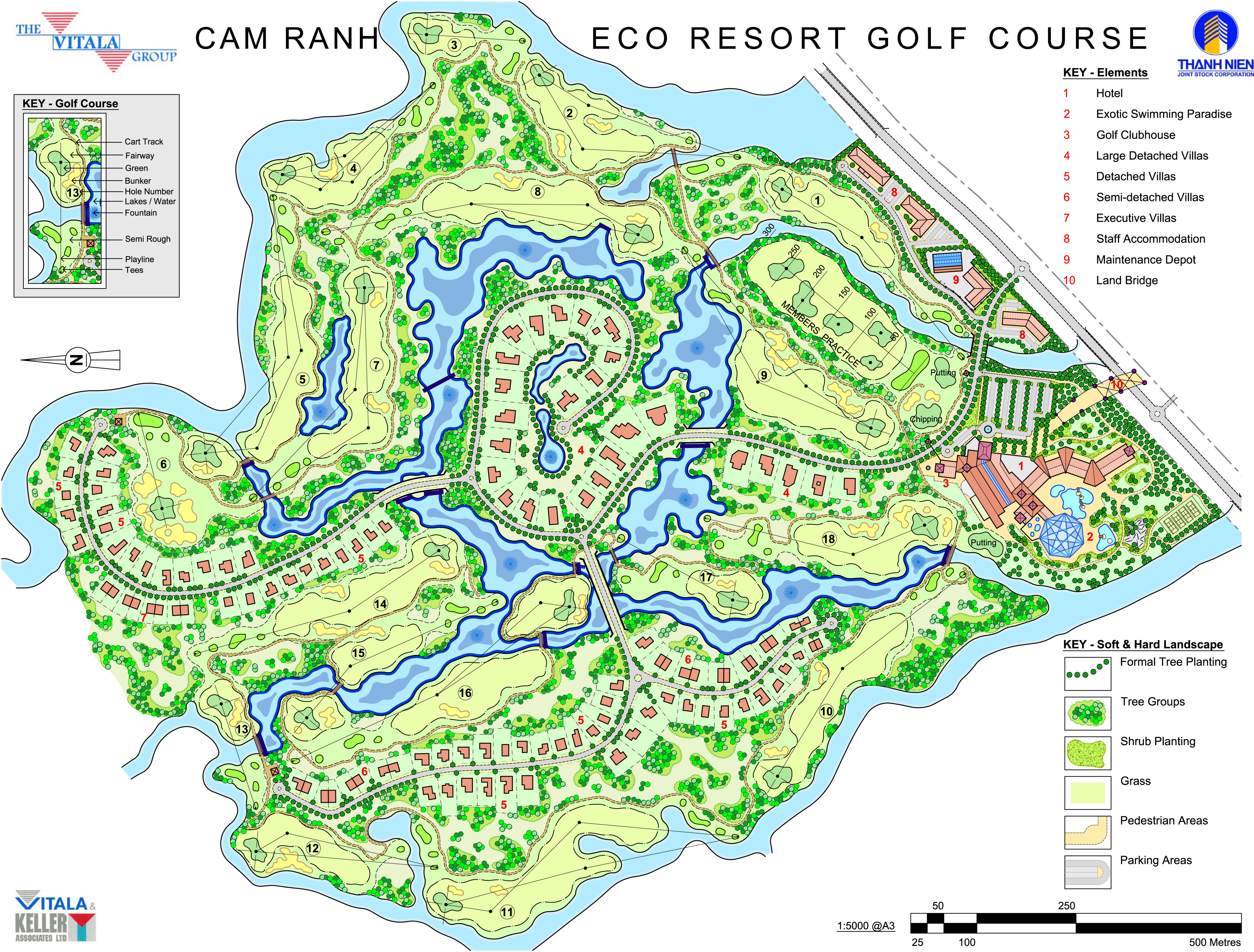 Cam Ranh Eco Resort Project Khanh Hoa Province Vietnam Golf Course Architects Golfmarnoch