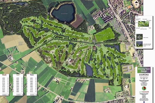 Knokke heist royal zoute belgium golf course architects